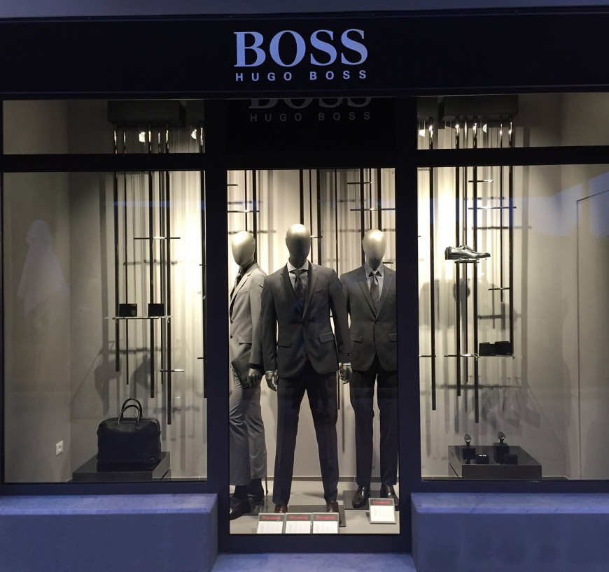 HUGO BOSS – Timestable