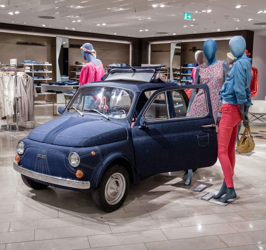 Denim Fiat for Breuninger Düsseldorf